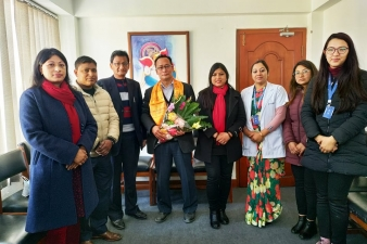Welcoming Dr. Deependra Shrestha to Blue Cross Hospital